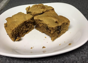21 Day Fix peanut butter squares