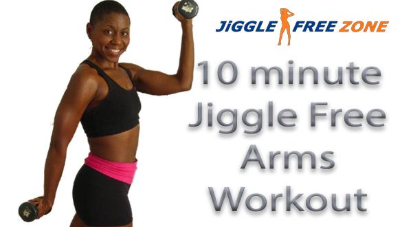 Jiggle Free Arms Workout